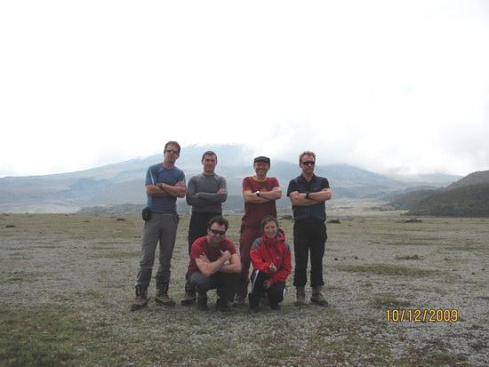 Člani odprave Ekvador 2009